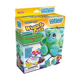 Wuggle Pets Funny Monkey Refill Kit