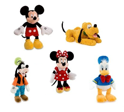 Mickey Mouse and Friends Plush Toys